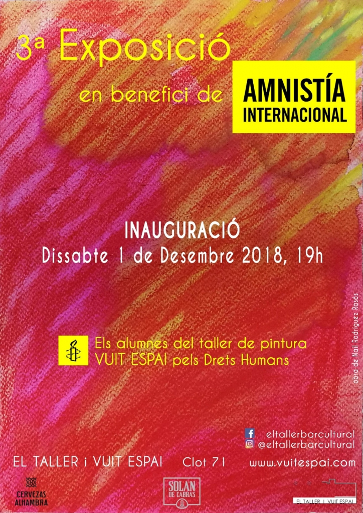 Exposicion De Pintura - El Taller - Amnistia Internacional