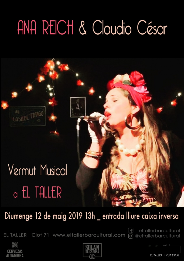 Ana Reich & Claudio Cesar - Vermut Musical - Barcelona