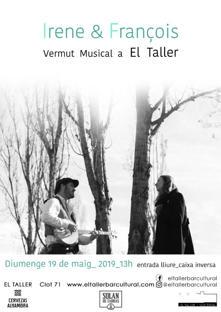 Irene & Francois - Vermut musical - Barcelona