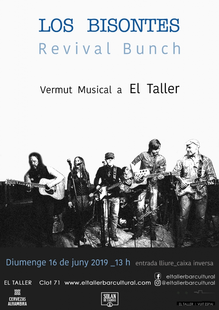 Los Bisontes - Revival Bunch - Vermut Musical - Barcelona